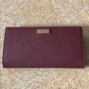 NWT Maroon Kate Spade Wallet